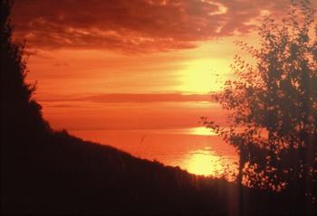 Nach so einem Sonnenuntergang heißt es vielleicht wieder Abschied nehmen - bis zum nächsten mal